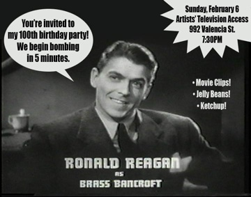 Reagans 100th birthday party artists television access bookmarktalkfo Choice Image